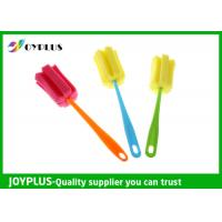 Quality Multi Colors Home Cleaning Tool Bottle Sponge Brush OEM / ODM Available wholesale