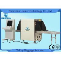 Quality 40Mm Steel Penetration Airport X Ray Machine Check Luggage Medium Tunnel Size wholesale