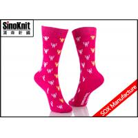 Quality Knitted Ladies colorful dress Socks / Customized Design Socks wholesale
