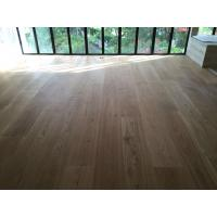 Cheap High quality 300mm wide White Oak Engineered Flooring for Singapore Villa for sale
