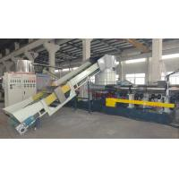 Quality mother and baby film granulaiton machine two stage film pelletizing machine wholesale