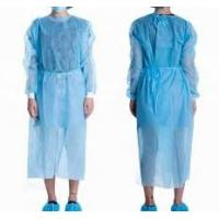 Quality Anti Static Disposable Surgical Gown , Water Repellent PP Isolation Gown wholesale