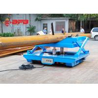 Quality Rail Mounted Oil Hydraulic Scissor Lift Trolley With Operation Platform wholesale