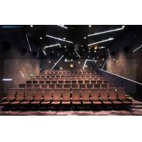 Quality Large Screen 4D Cinema Equipment Project With Pneumatic Motion Chair wholesale