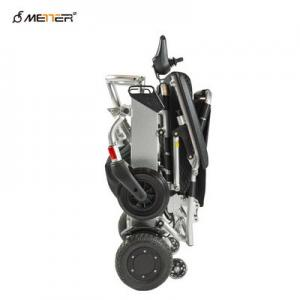 China 150W*2 Aluminum Alloy Lightweight Folding Electric Wheelchair ISO13485 on sale