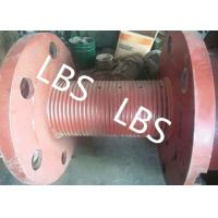Quality 3000m Rope Capacity Wire Rope Winch Drum With Helix Groove , ABS GL Listed wholesale