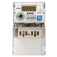 China Single Phase multi function energy meter , electrical energy power meters for home on sale