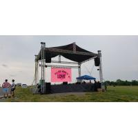 China Hd Video Wall Advertising 3.9mm 3.9 P3.9 P3.91 3.91 P3.91mm 3.91mm Display Rental Panels Outdoor Led Stage Screen on sale