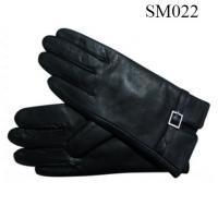 Quality Men sheep leather gloves high quality SM022 men warm gloves wholesale
