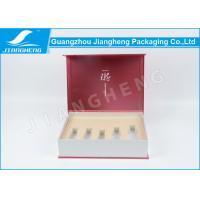 Pink Cool Cosmetic Packaging Boxes Disposable Paperboard With Foam Insert