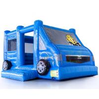 Quality Motor Vehicle Inflatable Jumpers Commercial 0.55mm Pvc Moon Bounce House wholesale