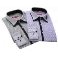 Quality New arrival Long sleeve shirts men shirts cotton polyester wash business professional men wholesale