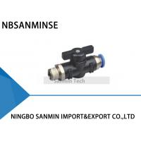 Quality BVC Air Flow Controller Pneumatic Compact Mini Ball Valve High Quality Sanmin wholesale