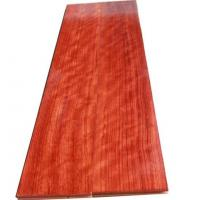 China Bubinga engineered wood flooring on sale