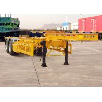 Buy cheap Durable Skeleton Semi Trailer Container Transport Trailer Customized Color from wholesalers