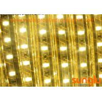 China 8 Watt Warm White LED Rope Light , 220V SMD 5730 120D Smart LED Tape Strip Lights on sale