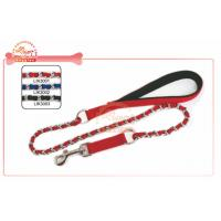 Quality Extended Nylon Chain Dog Lead And Durable Pet Leash With Soft Tough Paddle Handle wholesale
