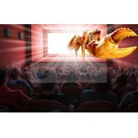 Quality Amazing Indoor 4D cinema system with Flat / Arc / Circular Silver Metal Max Screen wholesale
