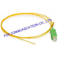 Quality SC / APC Corning optical fiber pigtail SM Hytrel Low Insertion Loss For ODF wholesale