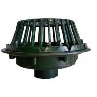 China QSF21506 Series 15 1/4 Diameter Large Sump Cast Iron Roof Drain with 6 No-Hub Outlet for Roof Drainage on sale