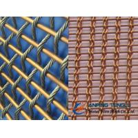 Quality Copper Facade Mesh With Copper Rods and Copper Cable, Building Decoration wholesale