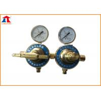 China Oxygen Double Stage Gas Regulator For Gas Supply Control Of Cutting Machine on sale