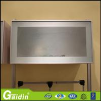 Tempered glass for kitchen cabinets popular tempered for Bi colored kitchen cabinets