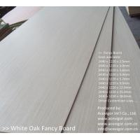Quality White Oak Fancy Plywood 1220 x 2440mm wholesale