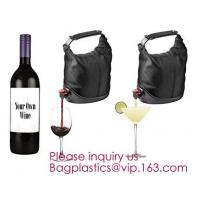 China Aluminum foil wholesale spout liquid wine bag in box with packaging,Bag in Box packaging with valve and spout/Unique bag on sale