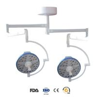 Cheap Hospital LED Operating Theatre Lights With Twin Arm , Dental Operating Light Shadowless for sale