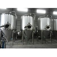 Quality Home Brew Conical Fermenter Equipment , Micro Beer Brewing Equipment wholesale