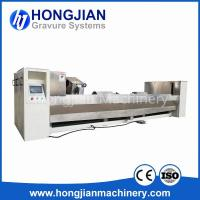 Quality Gravure Cylinder Chrome Polishing Machine 3M Sand Belt Finishing Machine Chrome Polisher Chrome Cylinder Polishing wholesale