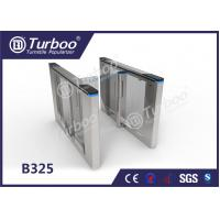 Cheap Office Security Entrance Swing Turnstile Barrier Gate RFID Card Reader for sale