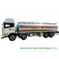 Buy cheap FOTON 8x2 Aluminium Alloy Fuel Oil Delivery Truck For Diesel Transportation from wholesalers