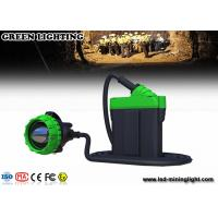 China 25000lux Super Brightness Rechargeable Head Torch , Color Customized Longwire Mining Lamp on sale