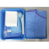 Quality Caesarean Section Surgical Procedure Packs One time  PE Film Hospital Medical Supply wholesale