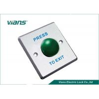 Cheap 86 * 86 * 20mm Green Mushroom Push Button NO / COM With 1 Year Warranty for sale