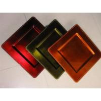 China Lacquer Plastic Tray & Gild Plates on sale