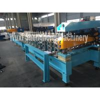Cheap Colored steel sheet roll forming machine for making roof panel at yield stress for sale