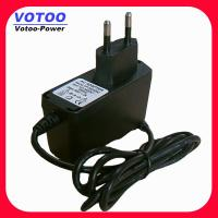 Cheap 110v - 240v Universal CCTV Power Adapter 24v 500ma ABS PC For Outdoor Surveillan for sale