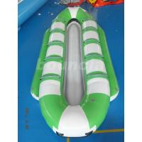Quality 10 Persons Inflatable Banana Boat / Commercial Banana Boat Rider For Water Games wholesale