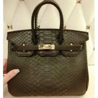 China Hermes Python Leather Birkin 25CM GHW on sale