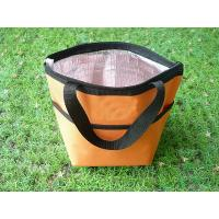 Quality Outdoor Insulated Picnic Kids Lunch Bags Yellow Color For Hiking wholesale
