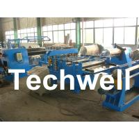 Quality Simple Steel / Metal Slitting Machine For Slitting 0.2 - 1.8 * 1300 Coil Into 10 Strips wholesale