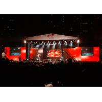 Quality Big Stage LED Screens Outdoor , waterproof LED Curtains Backdrop Enviromental wholesale
