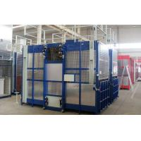 Quality Rack and Pinion Double Cabin Construction Hoists for Transport Material and Personnels wholesale