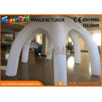 Quality White Igloo Clear Inflatable Tent For Wedding / Activities / Party wholesale