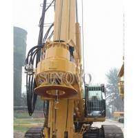 Quality 210KN CFA Drilling Equipment 6 - 27rpm Base Type CAT330D TR220W wholesale