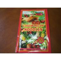 China Chowmein Noodles Packaging , Food Grade Pouch Bags Custom 340g on sale
