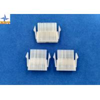 Quality 4.20mm Pitch Single Row Power Connectors Mini-Fit Plug Housing with Panel Mounting Lock wholesale